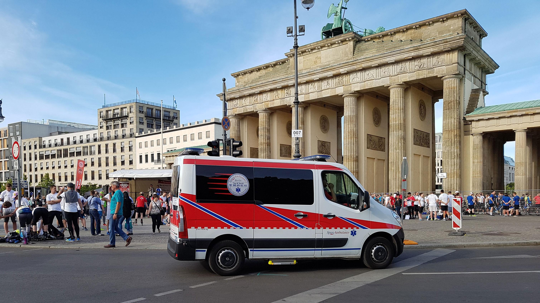 Brandenburger Tor Spree Ambulance - Case Study Spree Ambulance