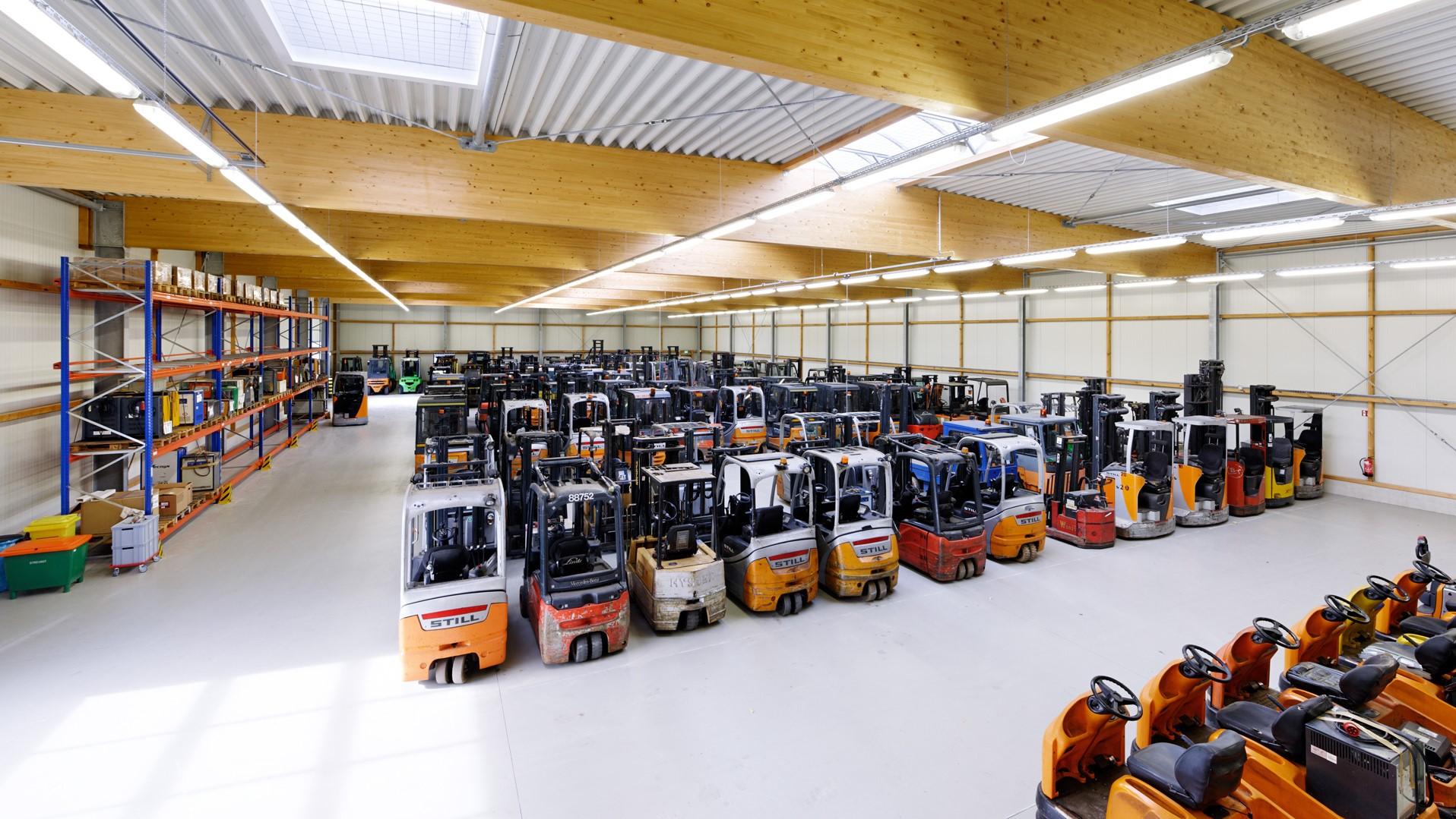 Lagerhalle2 Unilift - Case Study Unilift