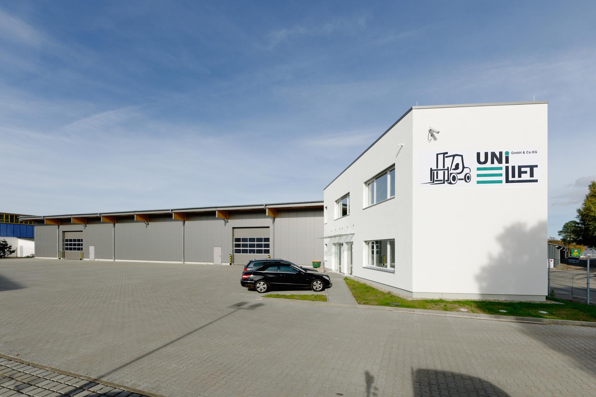 Lagerhalle3 Unilift - Case Study Unilift
