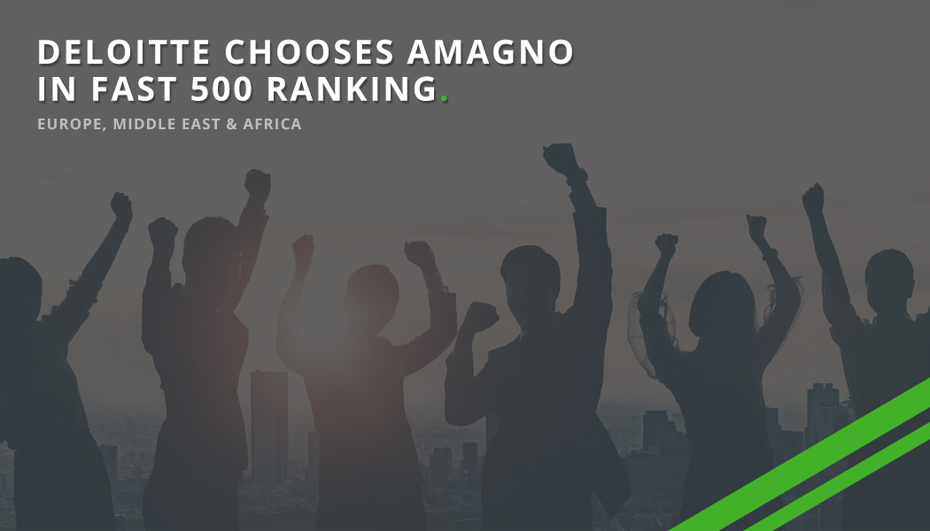 Deloitte chooses AMAGNO as one of the fastest growing companies in the world