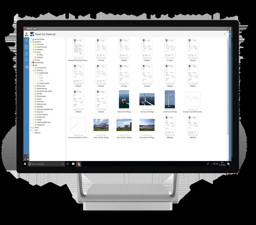 Surface Studio preview  - Amagno Business Cloud Registration