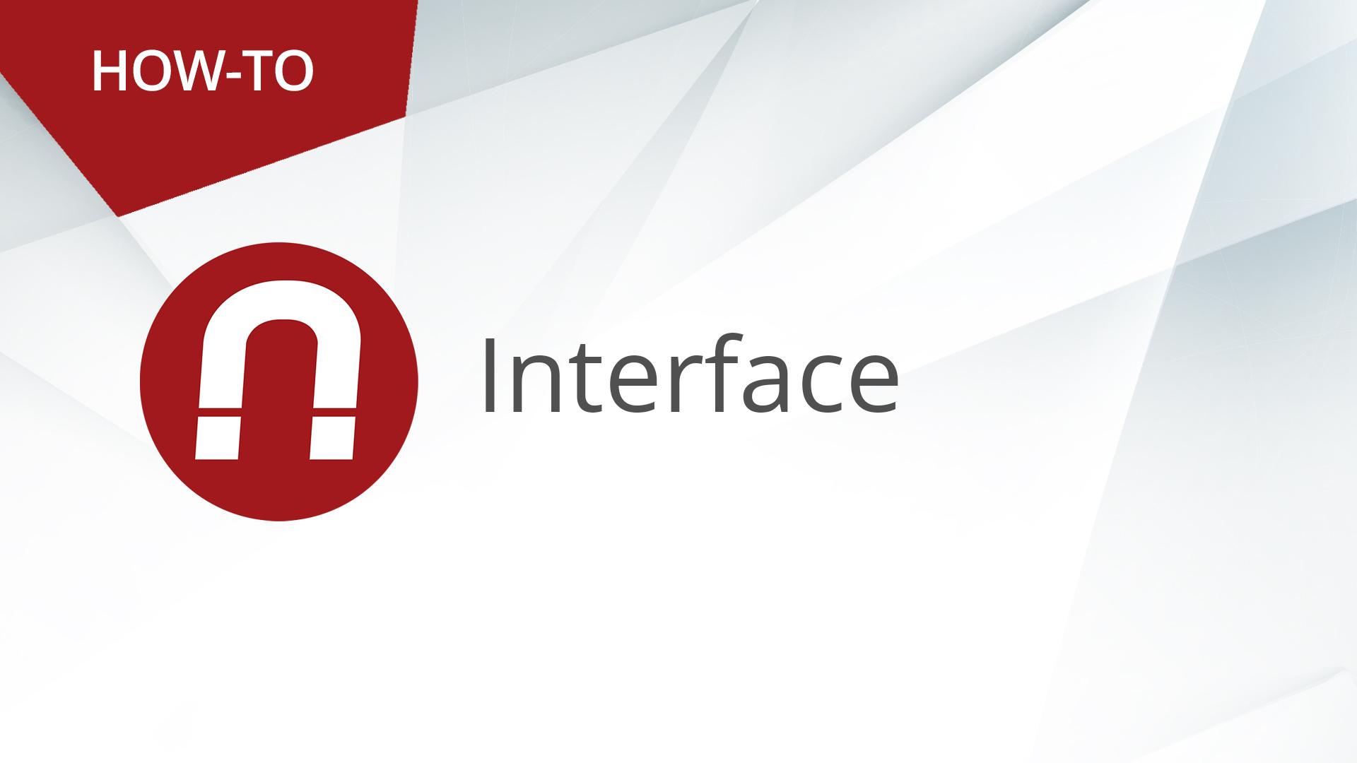 How-To: AMAGNO Basics – The Interface