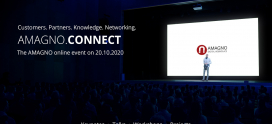 "Digital event ""AMAGNO.CONNECT"": Connection is together"
